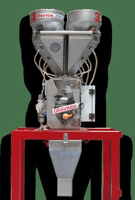 Ferlin Gravimetric Blender and Floor Stand